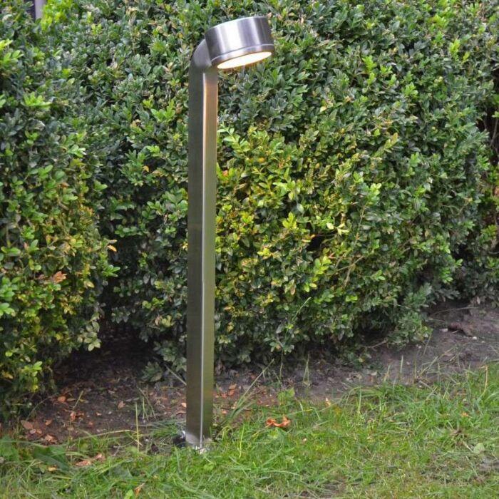 Lampă-de-exterior-Snake-pole-68cm-din-oțel-inoxidabil
