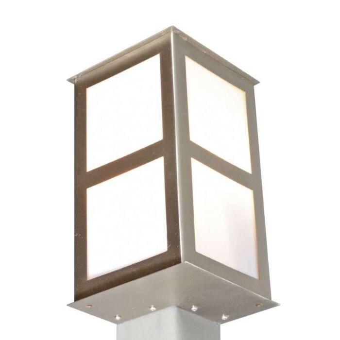 Lampă-de-exterior-Oțel-de-colț-pentru-montare-pe-colț