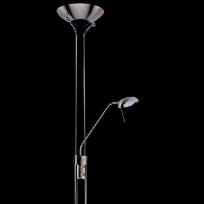 Lampă-de-podea-Diva-2-Steel