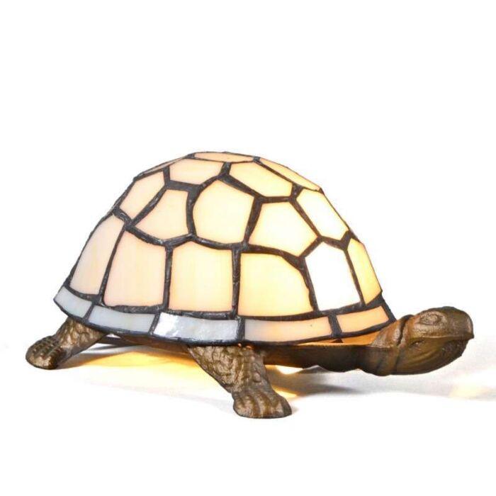 Lampă-de-masă-Tiffany-Turtle