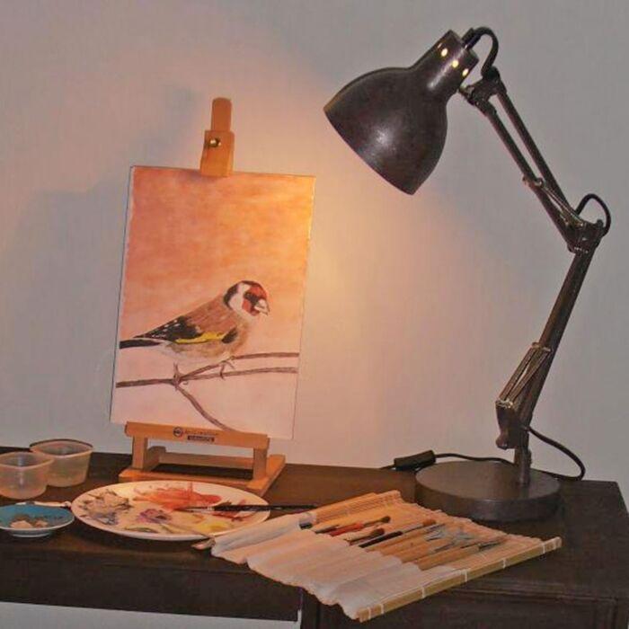 Lampă-de-masă-Mesa-antique