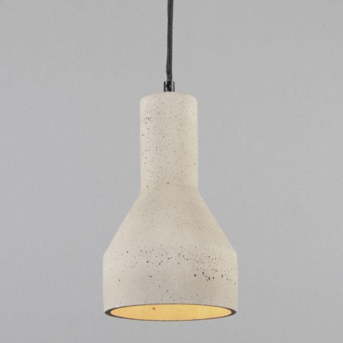 Lampă-suspendată-Beton-4-gri