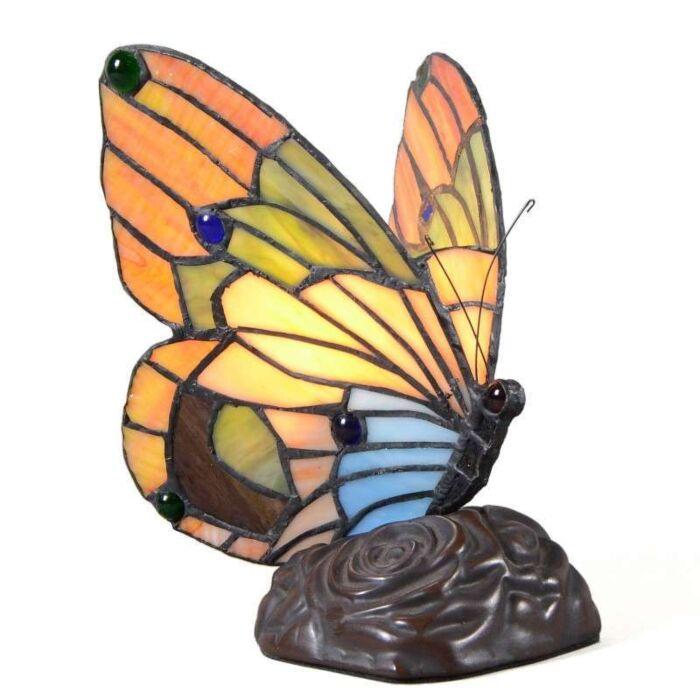 Lampă-de-masă-Tiffany-Butterfly