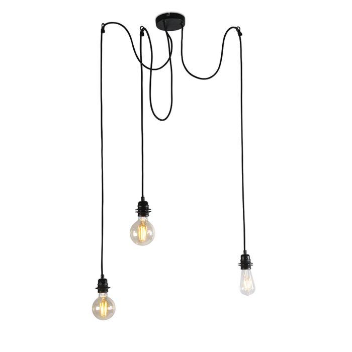 Lampă-suspendată-industrială-neagră---Cava-3
