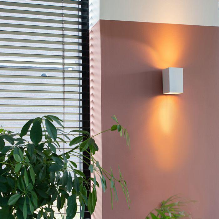 Lampă-de-perete-modernă-pătrat-alb---Sandy