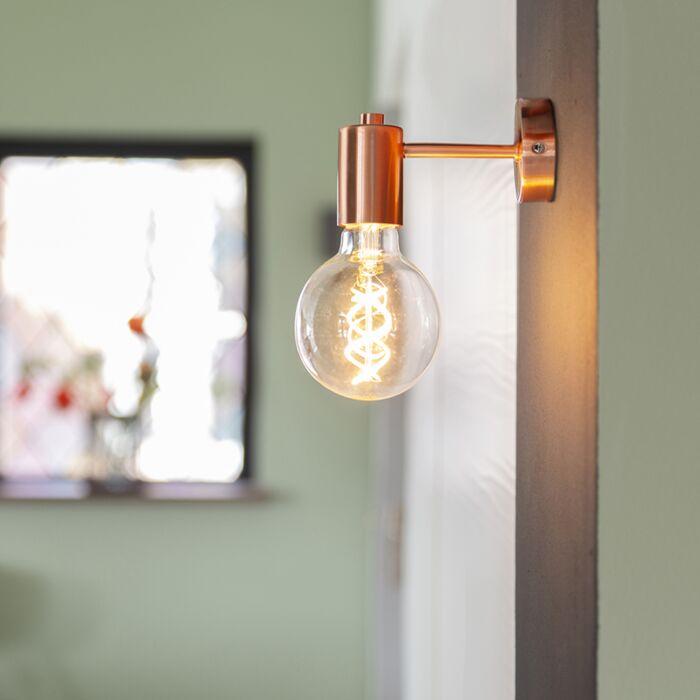 Lampă-de-perete-Art-Deco-cupru---Facil-1