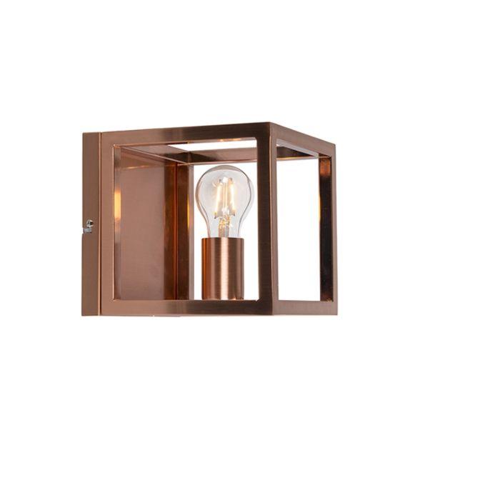 Aplica-de-perete-Cage-1-lampă-de-cupru