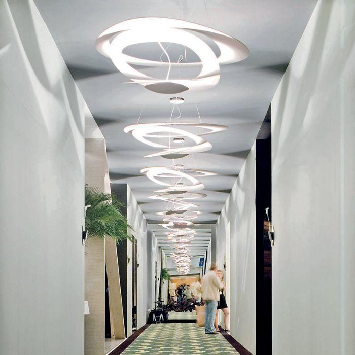 Lampă-suspendată-design-alb-69-cm---Pirce-Mini-Suspension