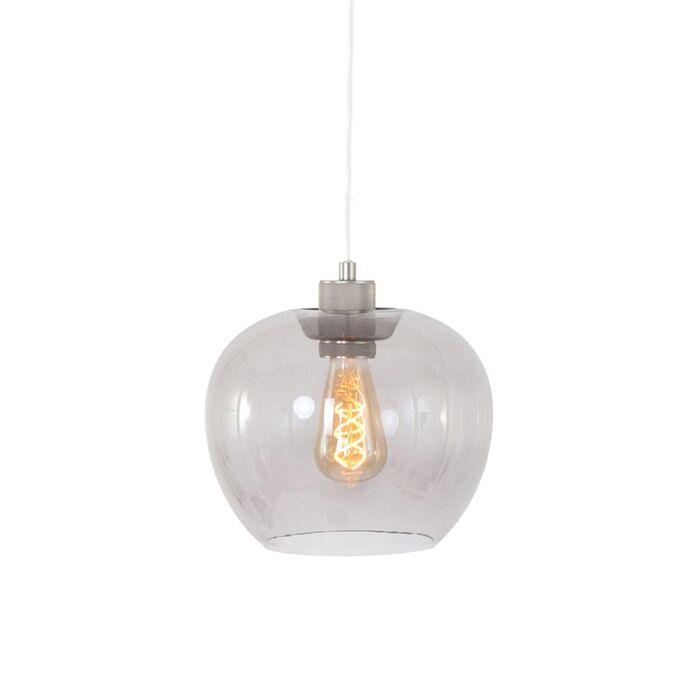 Lampă-suspendată-modernă-din-oțel-cu-sticlă---Lori