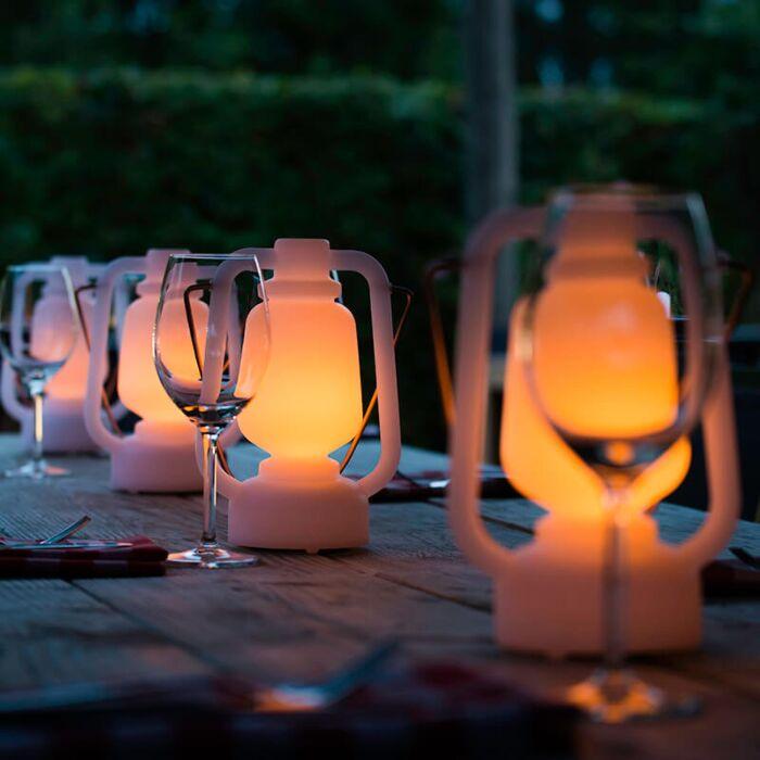 Lampă-de-masă-efect-flacără-albă-22-cm---Storm-Mini