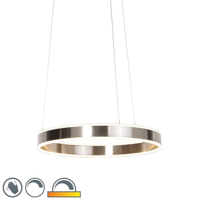 Lampă-modernă-suspendată-din-oțel-cu-LED-60-cm-slab-până-la-cald---Ollie